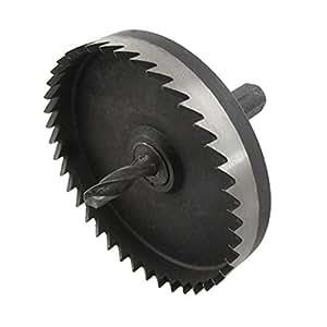 DealMux Kupfer Eisen Platte Schneiden 70mm HSS Lochsäge Spiralbohrer