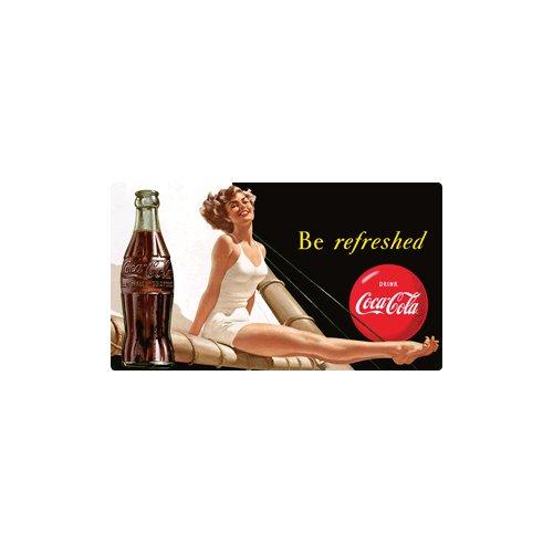 Preisvergleich Produktbild Coca-Cola aktualisiert Schwimmen Beauty Tin Kühlschrankmagnet