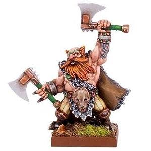 Mantic Games MGKWD77-1 Dwarf Beserker Lord
