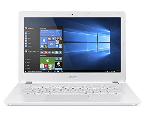 """Acer V3-372-55MZ Aspire Notebook, Display da 13.3"""" HD LED, Processore Intel Core i5-6267U, RAM 4GB, SSD da 256 GB, Bianco"""