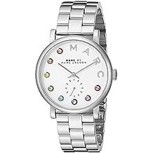 Marc Jacobs–Reloj de pulsera analógico para mujer cuarzo acero inoxidable mbm3420