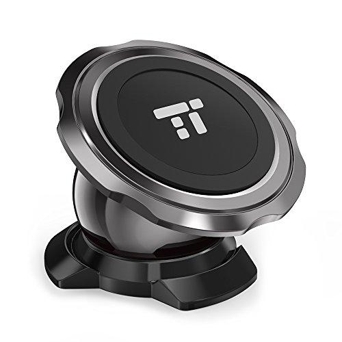 TaoTronics Magnetische Handyhalterung für Auto, Edelstahl Magnet Auto Handyhalterung drehbar Auto Halterung für iPhone 7/7 Plus/8/8 Plus/Samsung Galaxy S8/S7/S6 und andere Handys