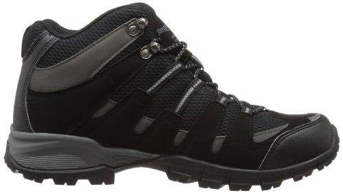 Regatta Garsdale Mid, Scarpe da Escursionismo Uomo Nero (Black/Granite)