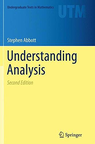 Understanding Analysis (Undergraduate Texts in Mathematics) por Stephen Abbott