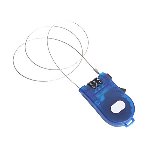 3 Pies Bloqueo Con Cable Combinación Retráctil Para Bicicleta Bici E