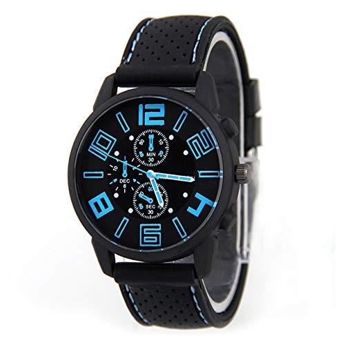 Socialism Silikonband Legierung Untere Quarz Armbanduhren Universal Armbanduhr Tragbare Männliche Sportuhren Luxusuhr