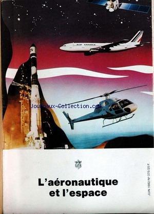 AERONAUTIQUE ET L'ESPACE (L') [No 375] du 01/06/1982