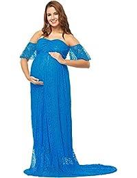 cabb76625048 BoBo-88 Abito Premaman Abito Premaman Donna Topless Pizzo Donna Unique  Stlie Abito in maternità