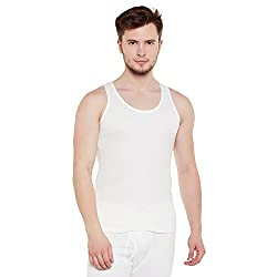 Neva Men Solid Slim Fit Thermal Top Off White Coloured XX-Large