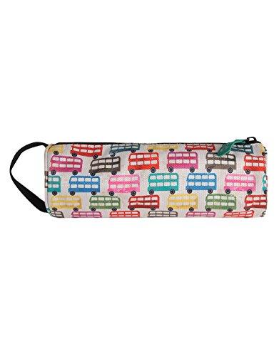 Mi-Pac Pencil Case Buses Trousse, 23 cm, Cream/Multicolore