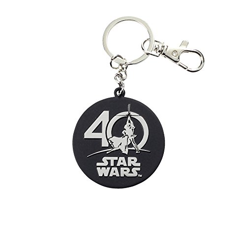 Star Wars- Logo 40 aniversario llavero SD Toys SDTSDT20320