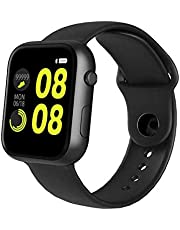 OPTA SB-167 Kalypso Bluetooth Fitness Watch with Heart Rate + Sleep Monitor Compatible with Android/iOS Smart Phones for Unisex