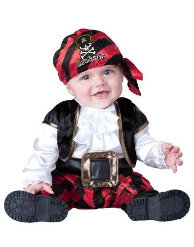 Kostüm Piraten Incharacter - InCharacter Klassisches Piraten-Babykostüm 74/80 (12-18 Monate)