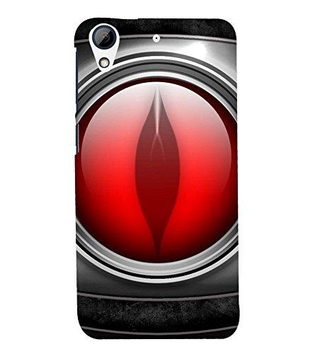 printtech Metal Eye Figure Back Case Cover for HTC Desire 728 / HTC Desire 728G
