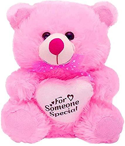 Yashika Toys Teddy Bear Yashika Toys 30 cm Pink Girl and Kids Gift Item Love Gift for Girls Love Baby New Big Quality i Love You u Special Valentine Card
