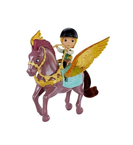 Disney - Princesse Sofia - Prince James et Echo - Mini Figurine + Cheval Ailé