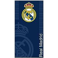 Real Madrid C.F. Toallas de Playa Escudo Azul 100 x 170