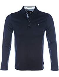 0430c93fa Ted Baker Polo Shirt FRUITPA Mens Navy TOP