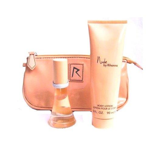 Rihanna Nude Confezione Regalo 15ml EDP + 30ml Lozione Corpo + Borsetta