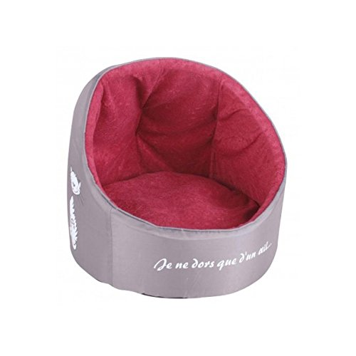panier-igloo-pour-chat-velours-40-x-43-cm-coussin-moelleux