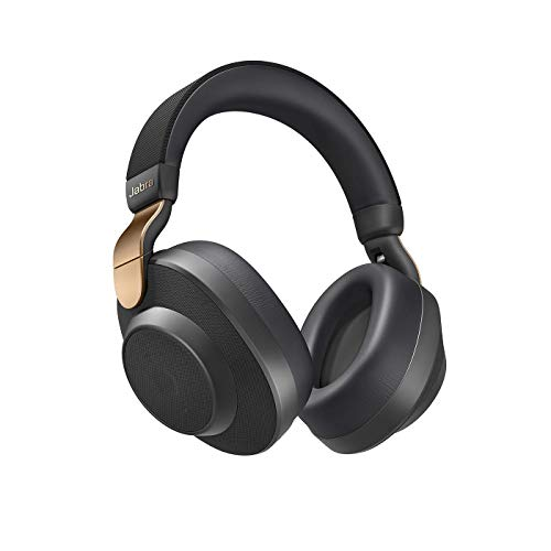Jabra Elite 85h Wireless Over Ear Kopfhörer (Alexa Edition), mit Alexa-Integration, aktive Geräuschunterdrückung, SmartSound Technologie, Kupfer Schwarz