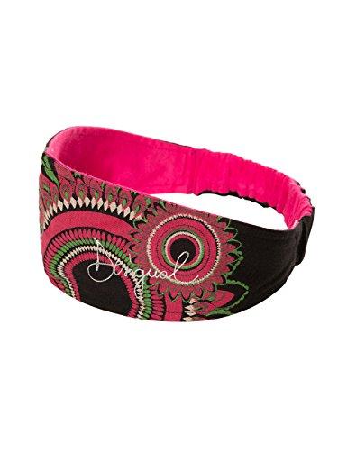 Desigual Mädchen Headband_TAXO Stirnband, Schwarz (Negro 2000), One Size (Herstellergröße: U)