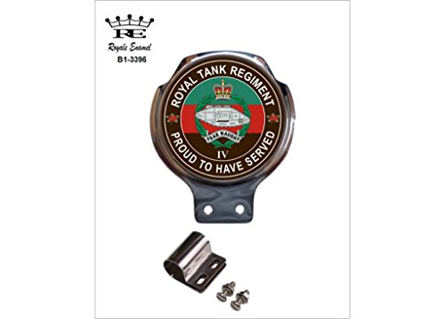 Preisvergleich Produktbild Royale Emaille Royale Auto Scooter Bar Badge – 4. Royal Tank Regiment Stolz B1. Stapelstuhl