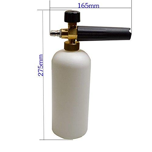 Preisvergleich Produktbild EFORCAR 1pcs Schnee Foam Lance für Hochdruckreiniger für Auto, Reinigen, Waschen