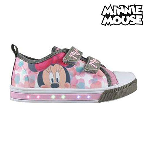 Zapatillas Casual con LED Minnie Mouse 2024 (talla ()