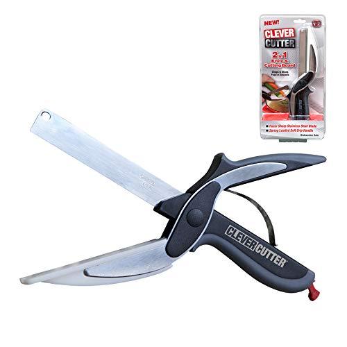 Clever Cutter 2-in-1 Food Chopper (Standard, Multicolour)