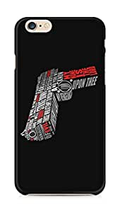 Amez designer printed 3d premium high quality back case cover for Apple iPhone 6 plus (Pistol gun pulp fiction)