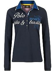 HV Polo–Polo T-shirt Galaxy–Polo–bleu marine–S