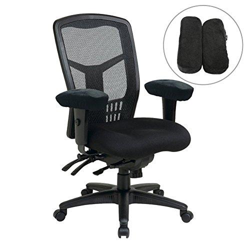 Stuhl Armlehne Pad, 1Paar der Ergonomische Memory Foam Stuhl Arm PADS ellenbogenschmerz style_A (Arm-drehstuhl)
