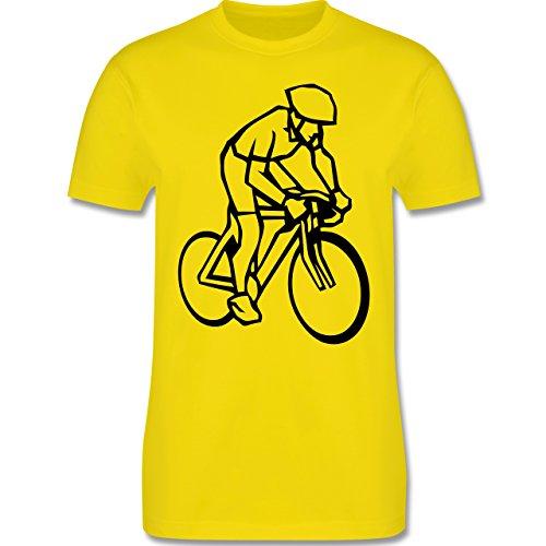 Radsport - Radsport - Herren Premium T-Shirt Lemon Gelb