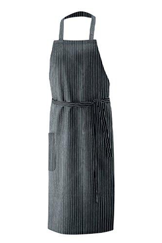 Latzschürze, Schürze 100x80 cm in Nadelstreifen,Model106,Artikel11,Farbe22
