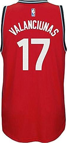 Jonas Valanciunas Toronto Raptors NBA Swingman Replica Jersey - Red