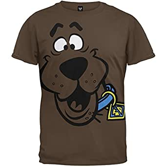 Scooby Doo Face Adult T ShirtScooby Doo Face Adult T Shirt (Small)