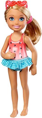 Mattel DWJ34 muñeca - Muñecas (Multicolor, Femenino, Chica, 3 año(s), Chelsea, De plástico)