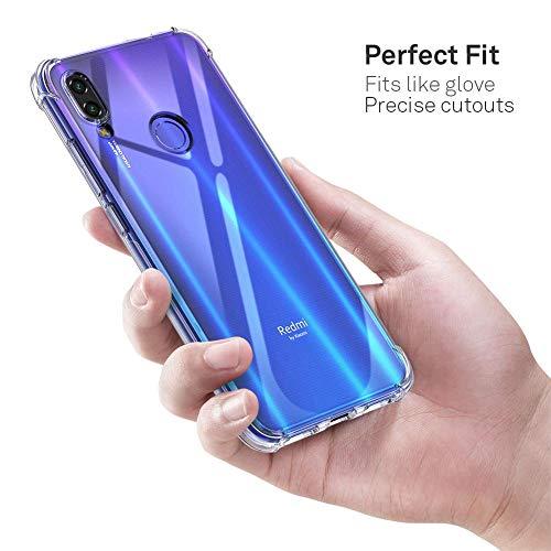 Cover Gel TPU Per Xiaomi Redmi Note 7 Colore Trasparente