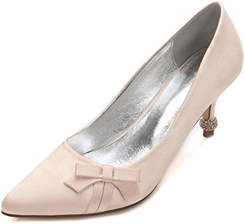 110122a9326ea ZBeiBei Womens Sexy Pumps Wedding Party Heels Shoes 29914 Satin Bow Tie  Rhinestones High Heels Pumps B07CKYQMJW Parent 5019ce7 -  www.wildaggressivedog.com