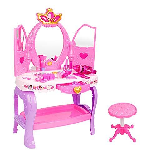 Centro de Belleza Set Los juegos de simulación de maquillaje Vestir Salón...
