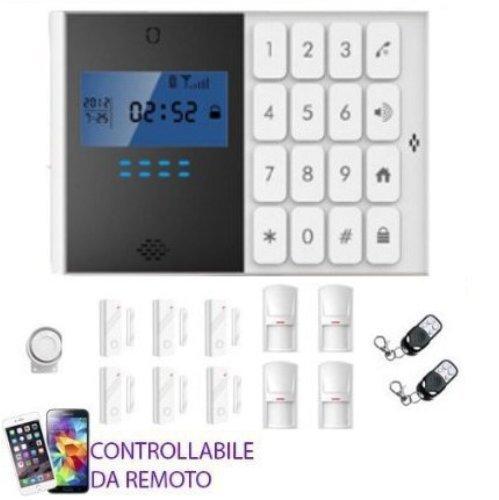 Kit Alarmanlage Haus Shop Garage Wohnmobil Steuerwalze GSM Wireless Remote-Kontrolle mit Schutzhülle
