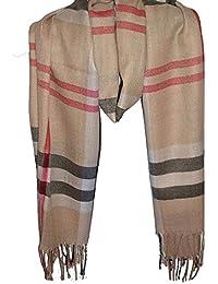 13556ebb3a1ae Wigwam accessories Luxus groß Dick Check Designer Cashmere Touch Plaid Schal