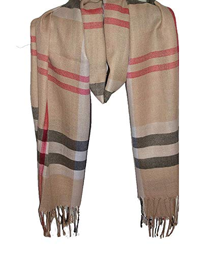 Wigwam accessories Luxus groß Dick Check Designer Cashmere Touch Plaid Schal