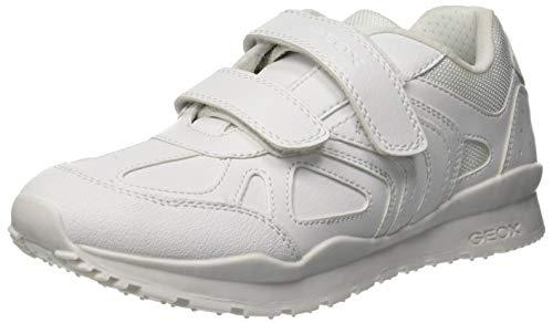 Geox J Pavel F, Zapatillas para Niños, Blanco (White C1000), 27 EU
