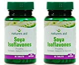 (2 Pack) - Natures Aid - Soya Isoflavones 50mg | 90's | 2 PACK BUNDLE