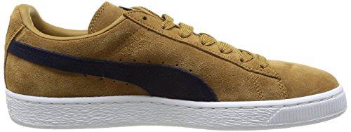Puma Suede Classic+ - Sneaker, , taglia Beige (Bistre/Peacoat)