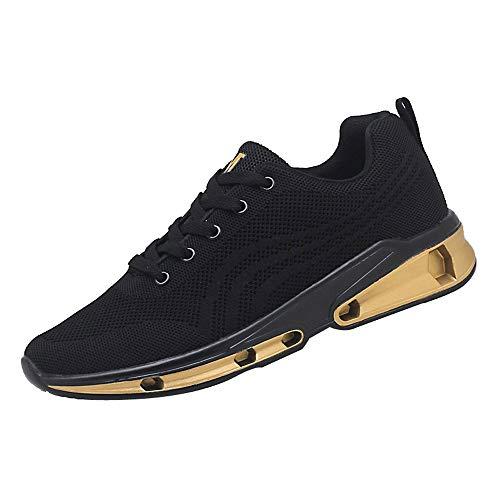 ღ UOMOGO Royal Unisex Uomo Donna Scarpe da Ginnastica Corsa Sportive Fitness Running Sneakers Basse Interior Casual all'Aperto MBA