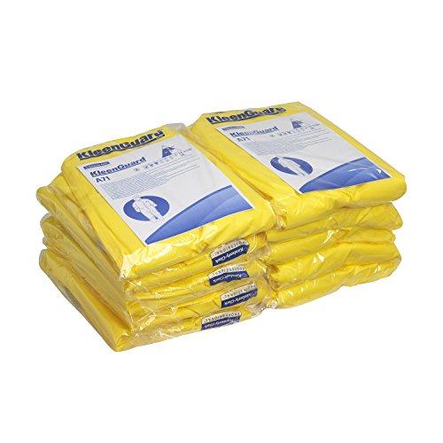 Preisvergleich Produktbild KleenGuard 96780 A71 Schutzanzug gegen Chemikalien-Sprühnebel, Overall mit Kapuze, 10er Pack