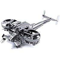 XINGYAN Modelo De Metal 3D, Bricolaje Ensamble De Modelos De Construcción para Adultos Colección Soporte De Exhibición De Rompecabezas De Corte Láser -Avatar Naves Espaciales